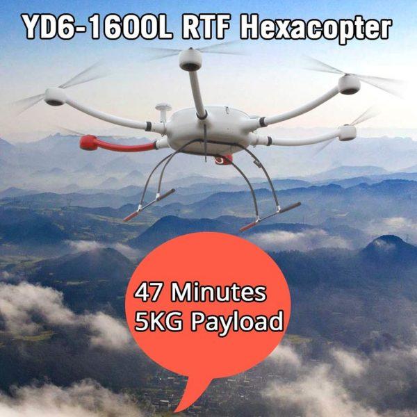 YANGDA YD6-1600L HEAVY LIFT HEXACOPTER