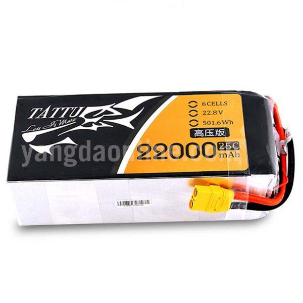 GENS TATTU 22000MAH 6S 25C 22.8V HIGH VOLTAGE LIPO BATTERY PACK