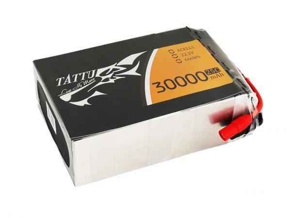 GENS TATTU 30000MAH 22.2V 25C 6S1P LIPO BATTERY