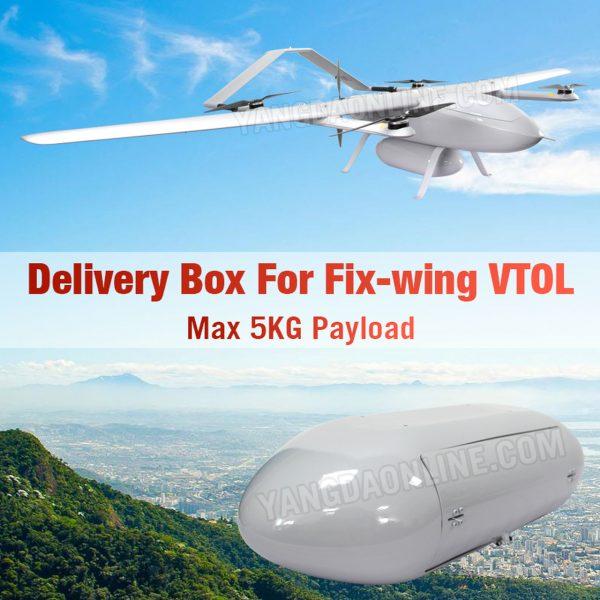 YANGDA KUA LITE DELIVERY BOX FOR FIX-WING VTOL